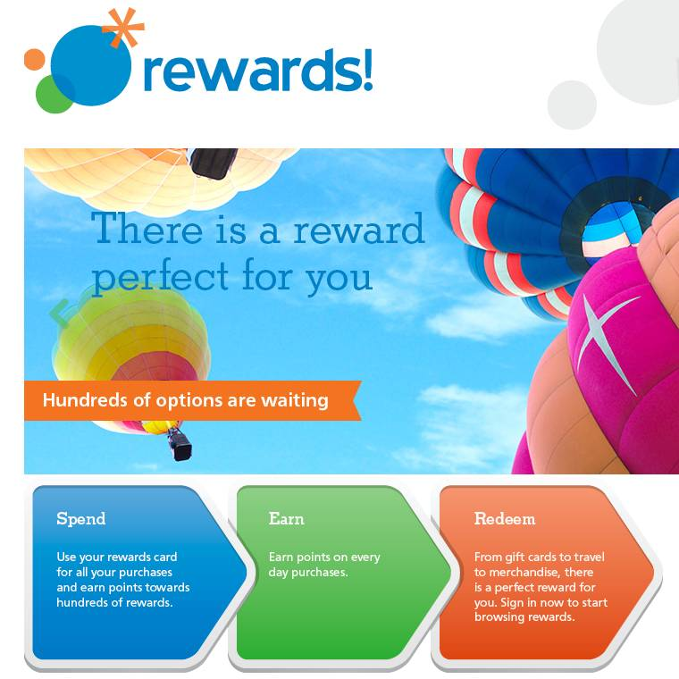 Rewards! There is a reward perfect for you!