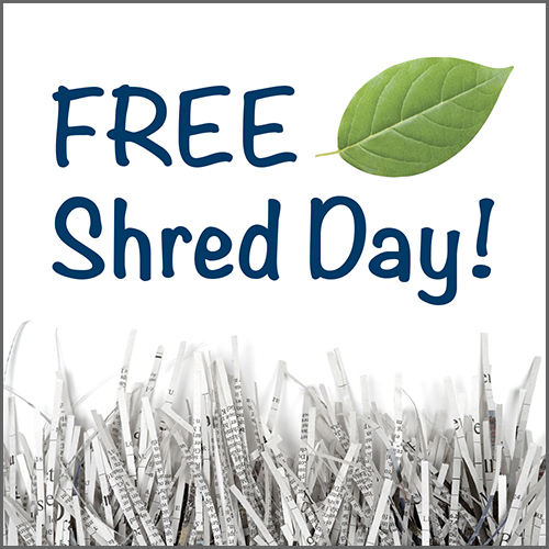 FREE Shred Day!